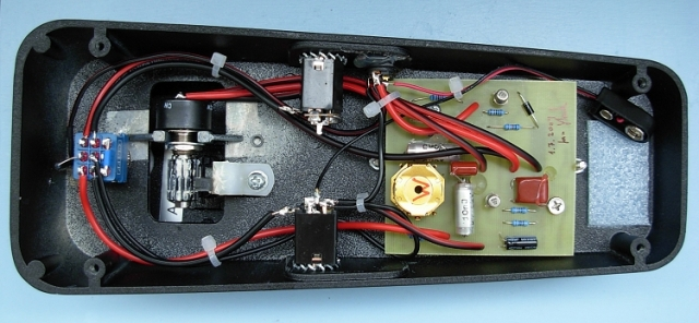Spaghetti Wah: an upgrade of your old wah pedal (wah mod